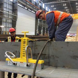beam press