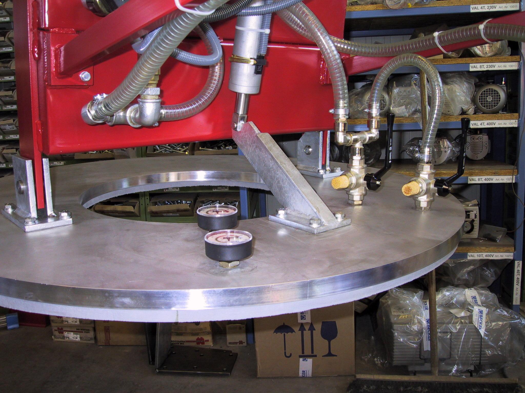 Vacuum Lifting For Metal Lhs